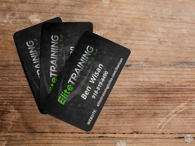 tulsa business cards