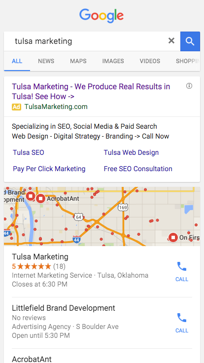 tulsa seo marketing