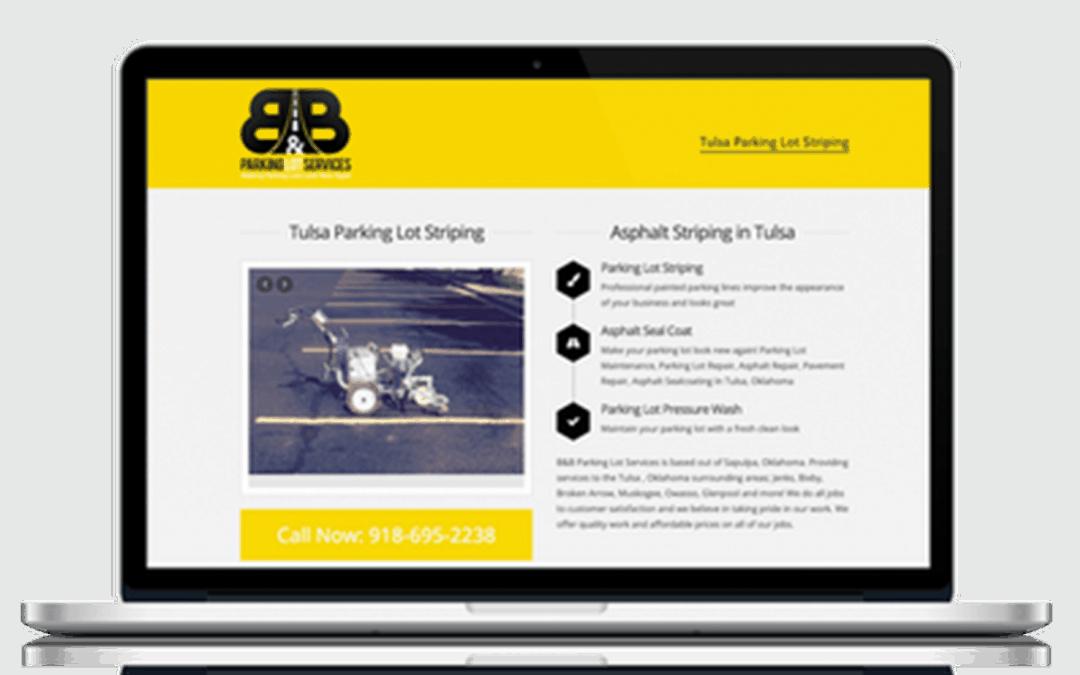 B&B Parking Lot Services